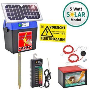 Weidezaungerät Set SOLAR - Weidezaungerät kaufen